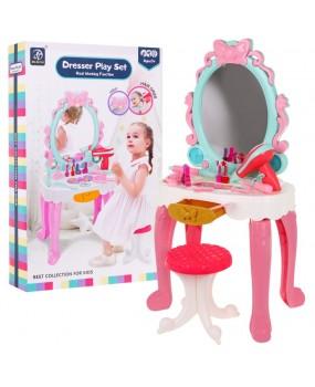 Toaletný stolík pre malé parádnice